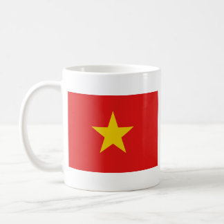 Tasse de carte de ~ de drapeau du Vietnam