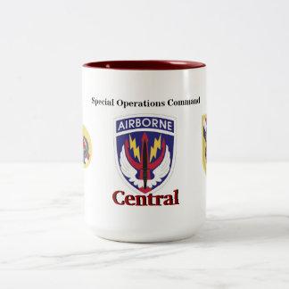 Tasse de central de commande d'opérations spéciale