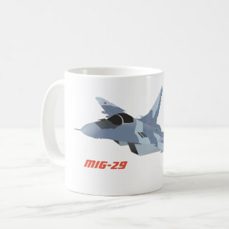 Tasse de chasseur à réaction MiG-29