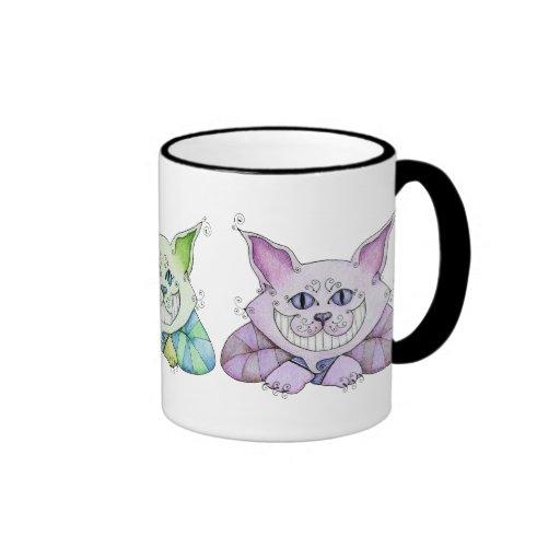 Tasse de chat de Cheshire