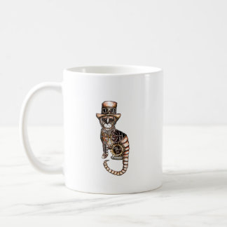 Tasse de chat de Steampunk