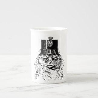 Tasse de chat de Steampunk, Kitty dans le Mug En Porcelaine