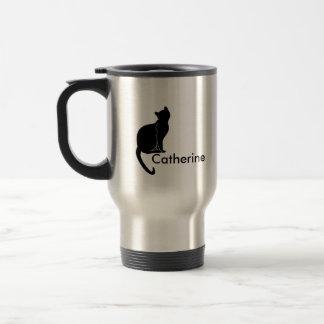 Tasse de chat noir