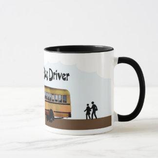 Tasse de chauffeur d'autobus scolaire