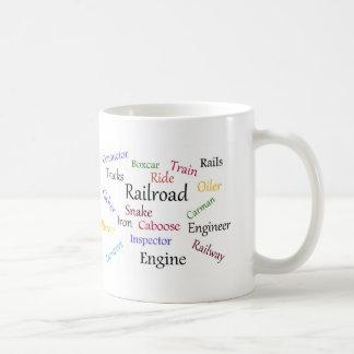 Tasse de chemin de fer