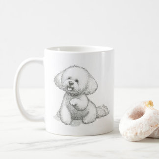 Tasse de chien : 'Trame de bloomin de Woof. '