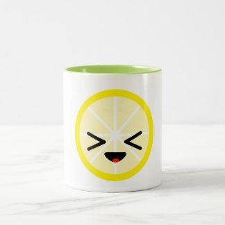 Tasse de citron d'Emoji