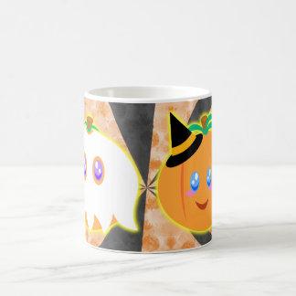 tasse de citrouilles de Halloween