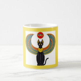Tasse de classique de chat à ailes par Egyptien