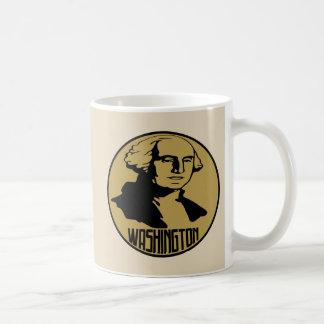 Tasse de classique de George Washington