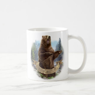 Tasse de classique d'ours gris