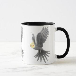 Tasse de Cockatiel de vol
