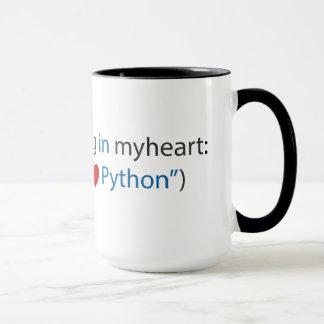 Tasse de codeur de python