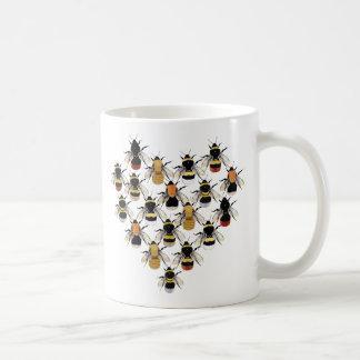 Tasse de coeur d'abeille