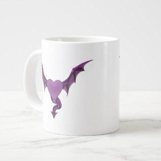Tasse de coeur de dragon