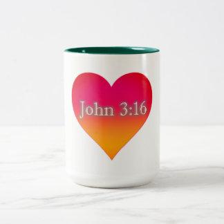 Tasse de Coffe de 3h16 de John