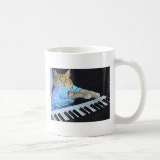 Tasse de Coffe de chat de clavier !