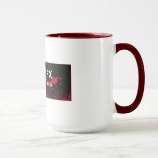 Tasse de Coffe de magasin de FX de maquillage de