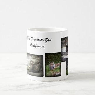 Tasse de collage de zoo de SF