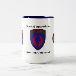Tasse de commande d'aviation d'opérations spéciale