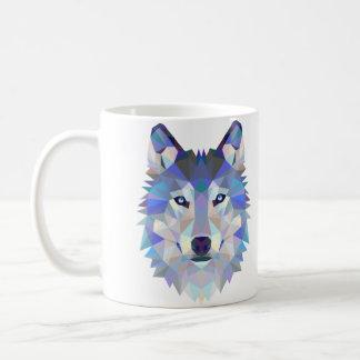 Tasse de conception de loup