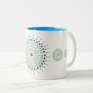 Tasse de conception de Mardalla - bleu