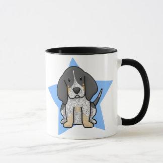 Tasse de Coonhound de Bluetick d'étoile de Kawaii