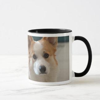 Tasse de corgi de café