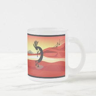 Tasse de coucher du soleil de Kokopelli
