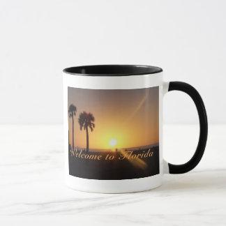 Tasse de coucher du soleil de la Floride