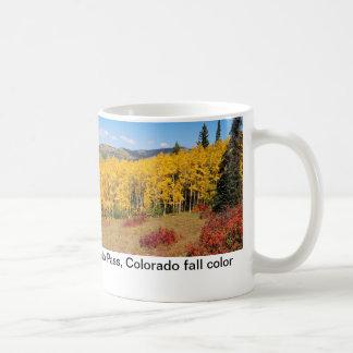 Tasse de couleur de chute du Colorado