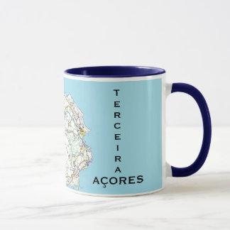 Tasse de coutume de carte des Açores Terceira*