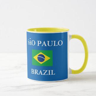 Tasse de crête de Sao Paulo Brésil