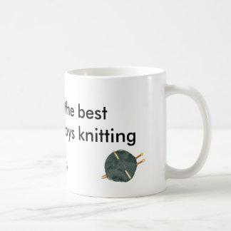 Tasse de crochet de Knit