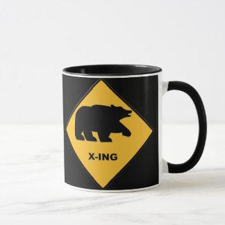 Tasse de croisement d'ours