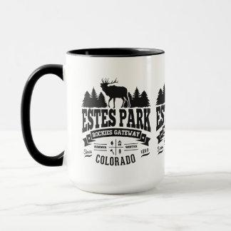 Tasse de cru de parc d'Estes
