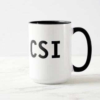 Tasse de CSI