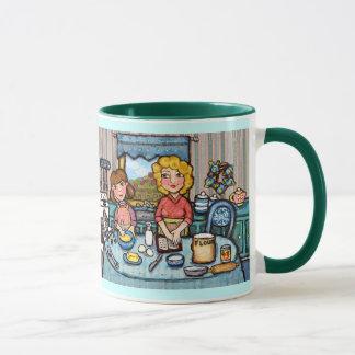 Tasse de cuisson du jour de mère