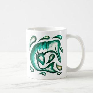 Tasse de dauphin de rivière