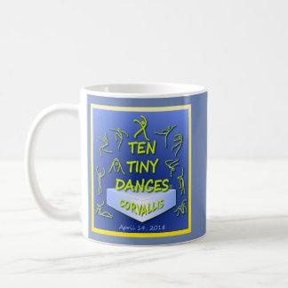 """Tasse de """"Dix Dances® minuscule"""" Corvallis"""