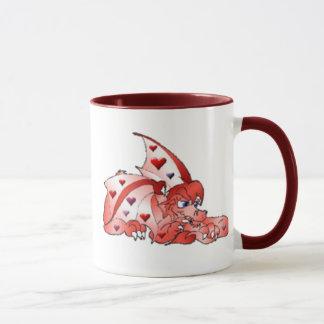 Tasse de dragon de Valentine