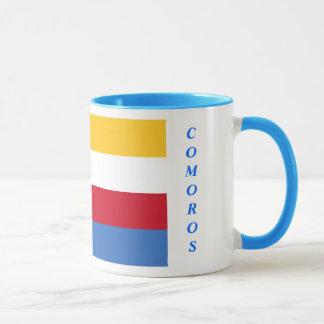 Tasse de drapeau des Comores