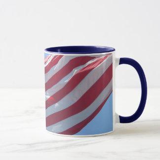 Tasse de drapeau des USA