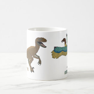 Tasse de favoris de dinosaure