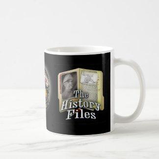 Tasse de fichiers historiques