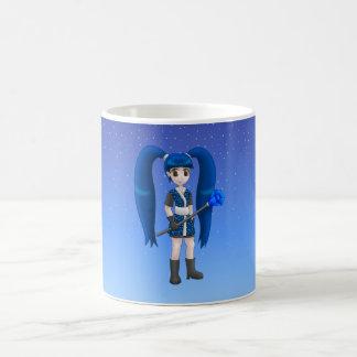 tasse de fille d'anime