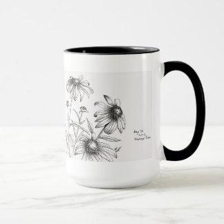 Tasse de fleur
