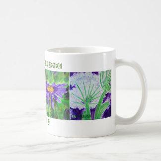 Tasse de fleur sauvage