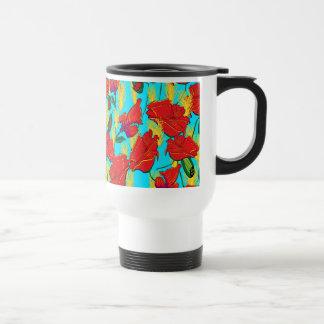 Tasse de fleurs de pavot, abonnés Mug Poppies