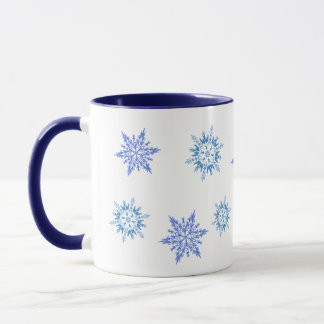 Tasse de flocon de neige